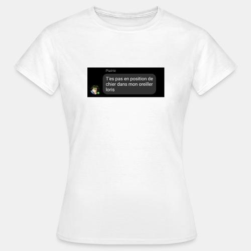DBC - Chier dans l'oreiller - T-shirt Femme