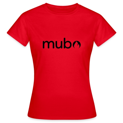 mubo Logo Word Black - Women's T-Shirt