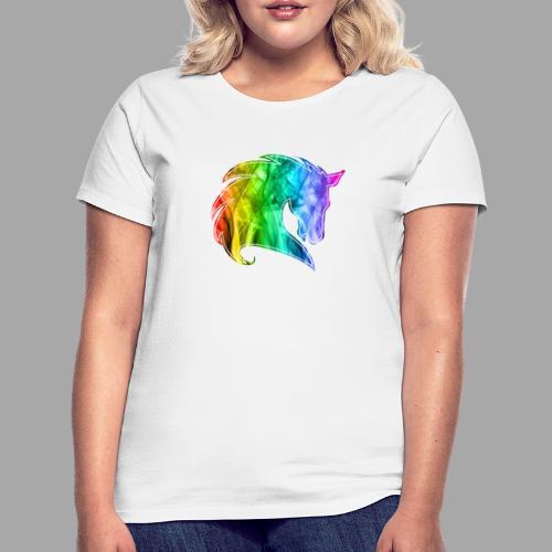 Rainbow Horse - Maglietta da donna