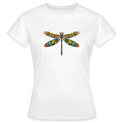 DRAGONFLY SKULL - Frauen T-Shirt