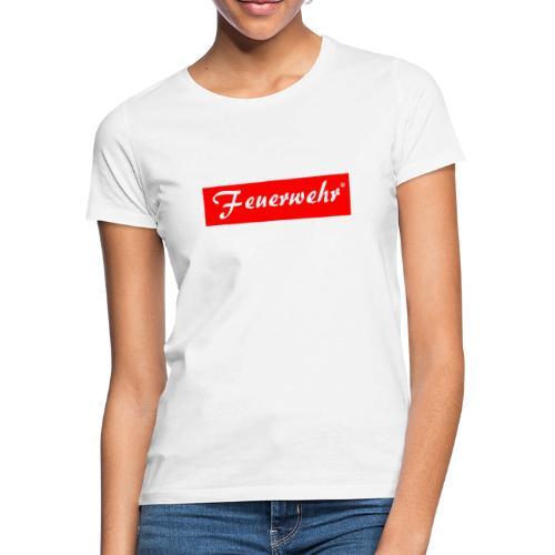 Feuerwerhr Liebhaber Gift - Women's T-Shirt