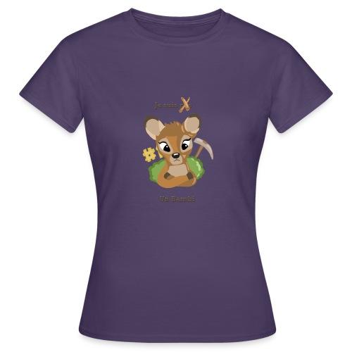 Je suis un bambi - T-shirt Femme