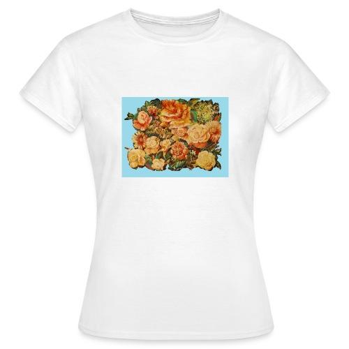 Flowers - Dame-T-shirt