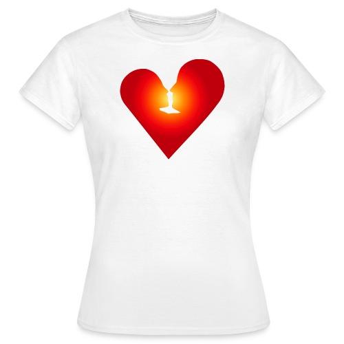 Ein Herz in Liebe - Frauen T-Shirt