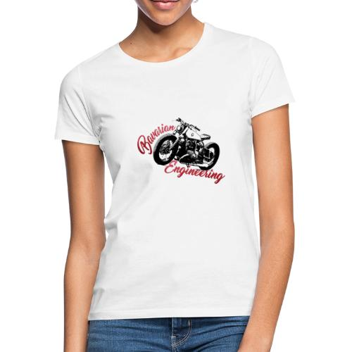 Bavarian Engineering Motorcycle - Frauen T-Shirt