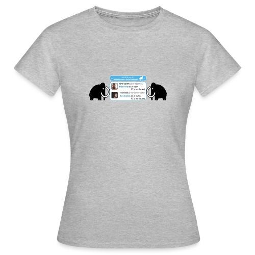 homo-sapiens et néandertal - T-shirt Femme