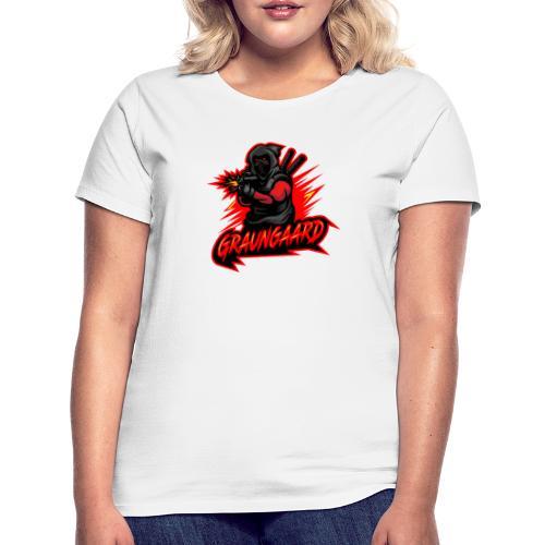 Graungaard startdart logo - Dame-T-shirt