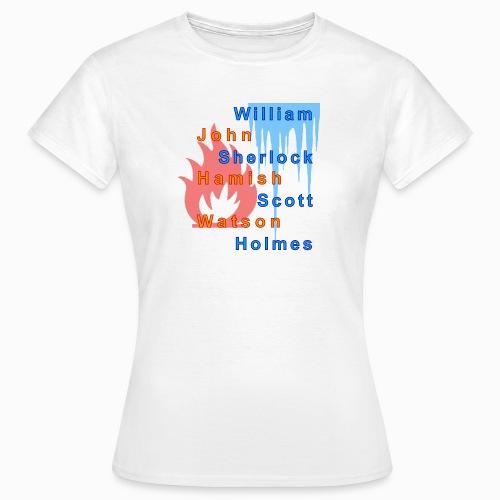 Feuer und Eis - Frauen T-Shirt
