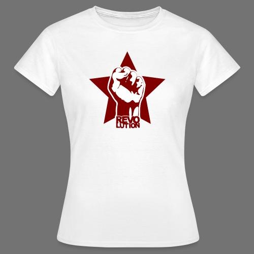 Vallankumous - Naisten t-paita