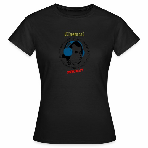 Classical Rocks! - Women's T-Shirt