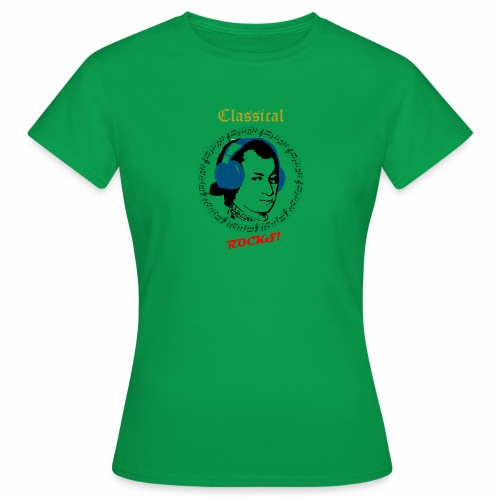 Classical Rocks! - Women's T-Shirt