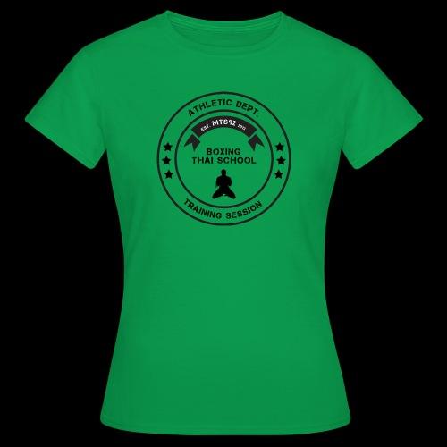 MTS92 BOXING THAI SCHOOL ROND - T-shirt Femme
