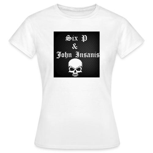 Six P & John Insanis SKULL Paita - Naisten t-paita