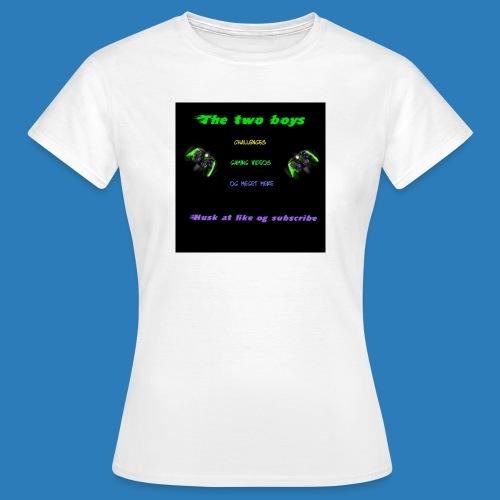 LUISJAKUBINTRO-jpg - Dame-T-shirt
