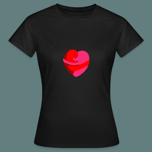 hearts hug - Maglietta da donna