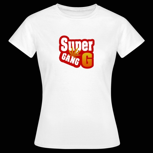 SuperG-Gang - Dame-T-shirt