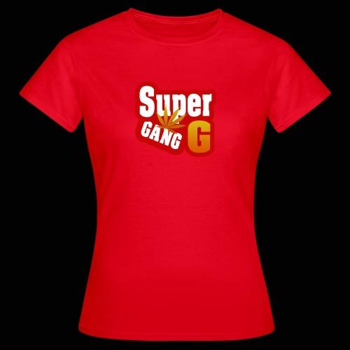 SuperG-Gang - Dame-T-shirt