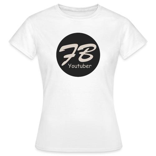 TSHIRT-YOUTUBER - Vrouwen T-shirt