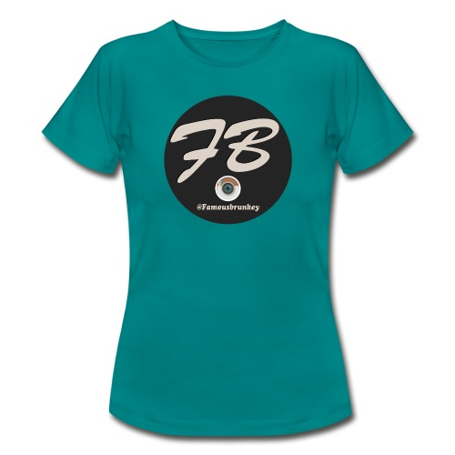 TSHIRT-INSTATUBER-METLOGO - Vrouwen T-shirt