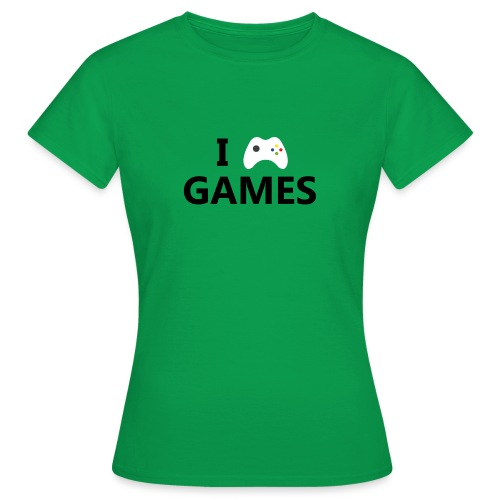I Love Games - Camiseta mujer