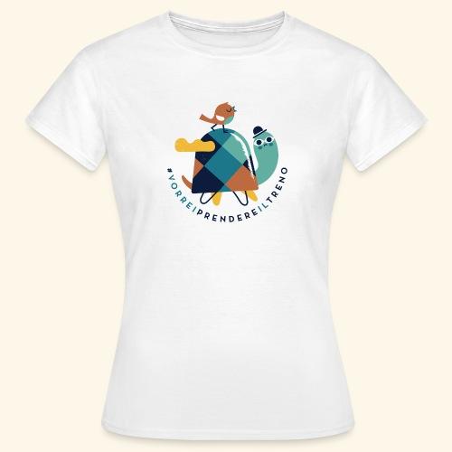 Tartaruga e uccellino - Maglietta da donna