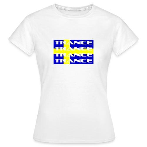 sverige_trance - T-shirt dam