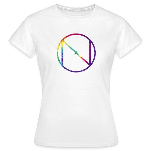 Tye Die Logo - Women's T-Shirt