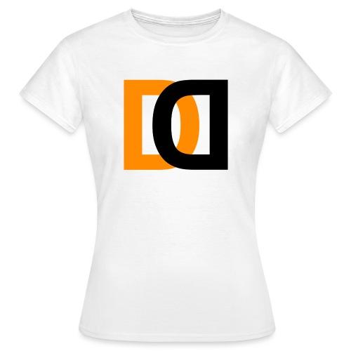 Dutch Driveclub logo oranje zwart transparante ach - Vrouwen T-shirt