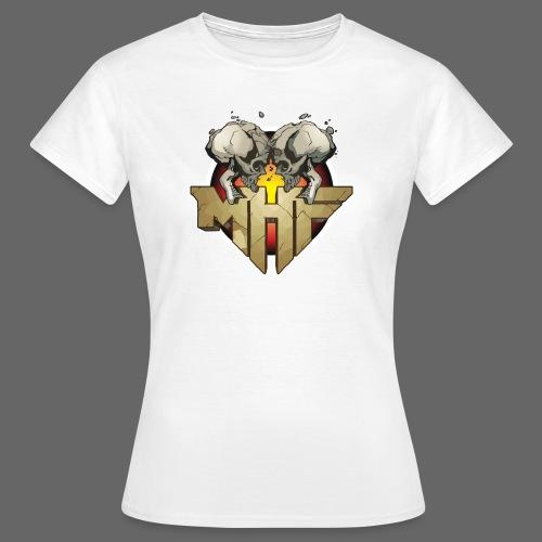 new mhf logo - Women's T-Shirt