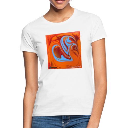 TIAN GREEN Mosaik DK005 - Herzenswelten - Frauen T-Shirt