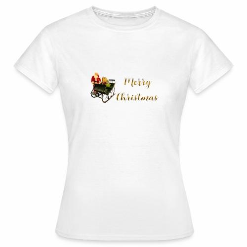 Merry Christmas - T-shirt Femme