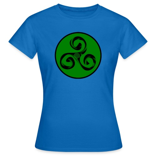 Triskel and Spiral - Camiseta mujer