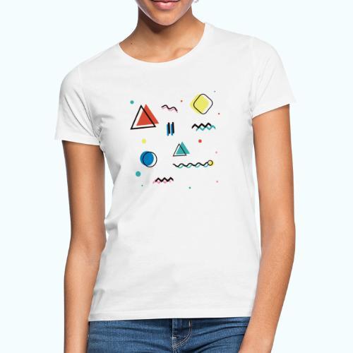 Abstract geometry - Women's T-Shirt