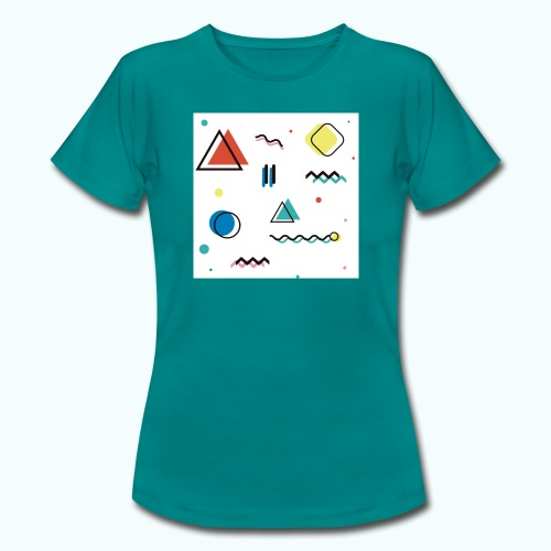 Abstract geometry - Women's T-Shirt