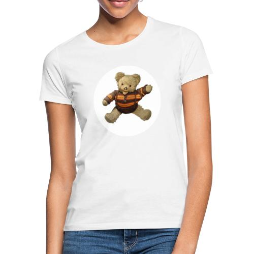 Teddybär - orange braun - Retro Vintage - Bär - Frauen T-Shirt