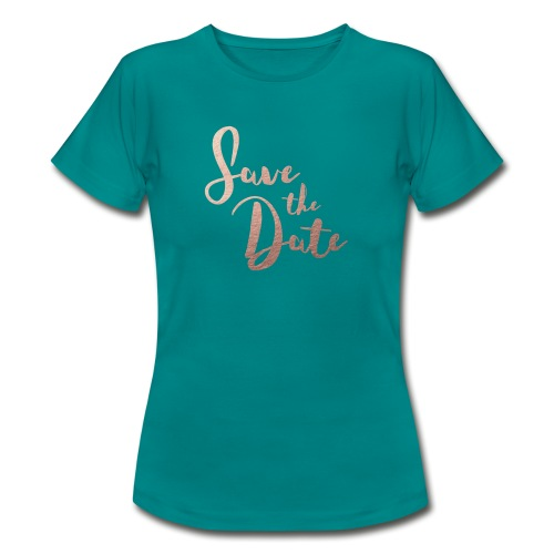 Save the Date - T-shirt Femme