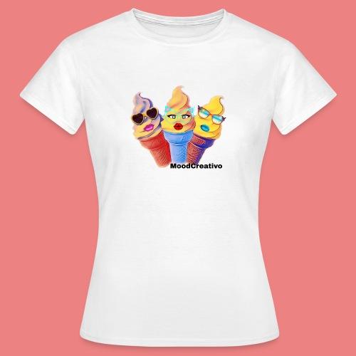 Moodcreativoart - Maglietta da donna