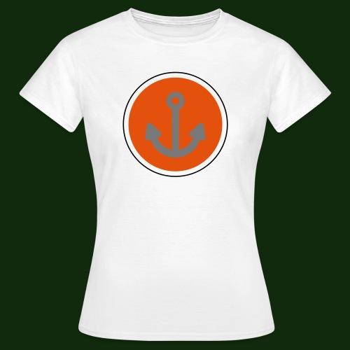 Anker Button - Frauen T-Shirt