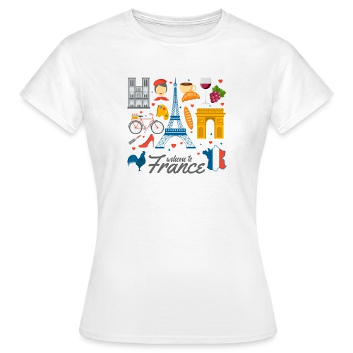 collection femme welcome to france - T-shirt Femme