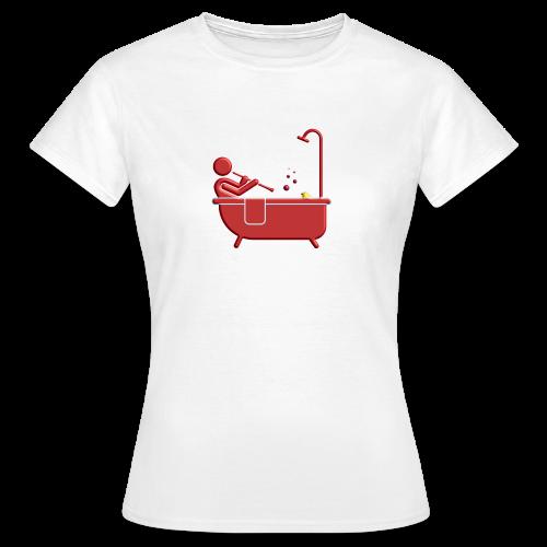 Badewannen Oboist - Frauen T-Shirt