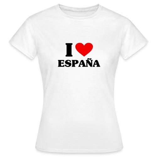 I love Espana - Frauen T-Shirt