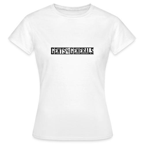 Gents&Generals Official 2013 Shirt - Frauen T-Shirt
