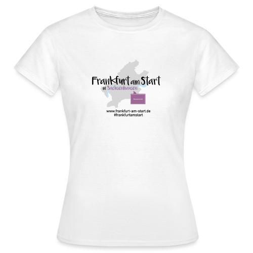 Frankfurt am Start Brückenviertel - Frauen T-Shirt