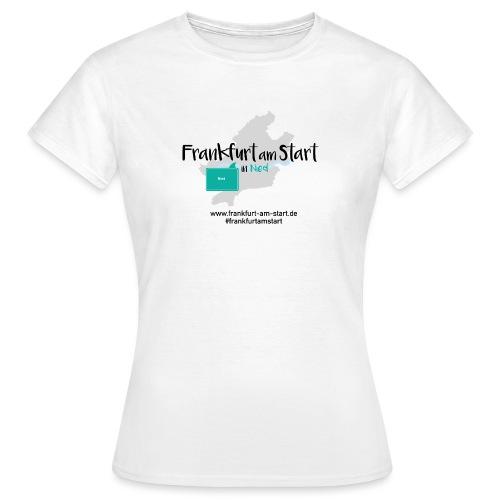 Frankfurt am Start Nied - Frauen T-Shirt