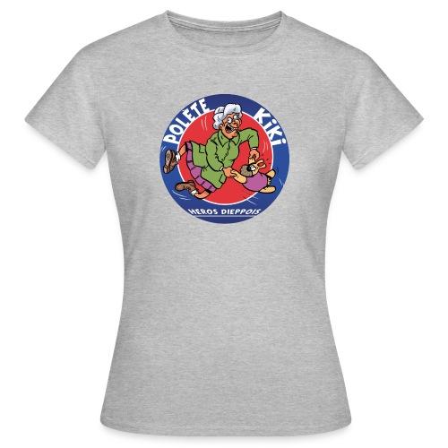 tshirt polete heros dieppois - T-shirt Femme