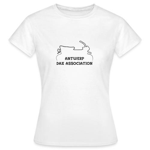 ADA DAX Logo Klein Zwart - Vrouwen T-shirt