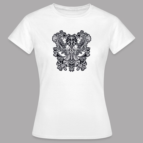 moth black - Women's T-Shirt