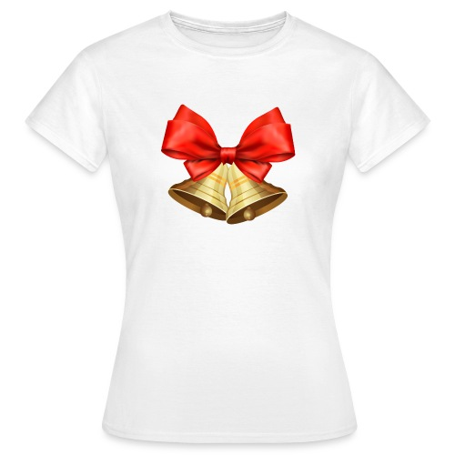Pngtree christmas bell 3715872 - Camiseta mujer
