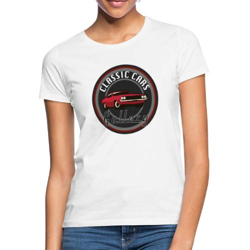 Classic Cars Gallery Logo Merchendise - Vrouwen T-shirt