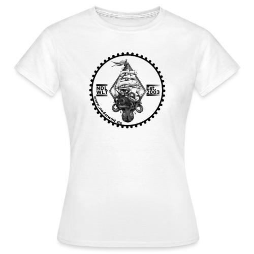 Nadelwelt Logo 2020 BW - Frauen T-Shirt